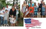 """1000 Thanks"" to Military Families"