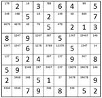 Part I–Sudoku Puzzle Preparation for Dan's steps 1-8