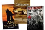 "For the bookshelf: ""I am Algonquin"", ""Too Young to Fight"" and ""The Congregation"""