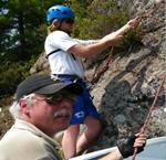 Rock Climbing in the Thousand Islands