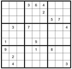Sudoku Puzzle #40 - Plus a DIY Grid Lesson