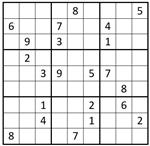 Sudoku Puzzle Challenge-September 2016