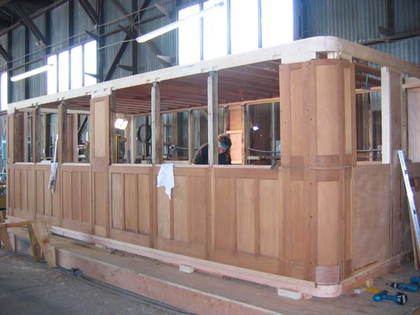Joinery, rebuilding aft deck house