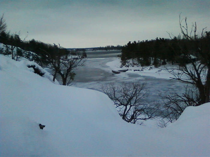 The cut between Wellesley and Murray Isle by Melissa Rosenberger