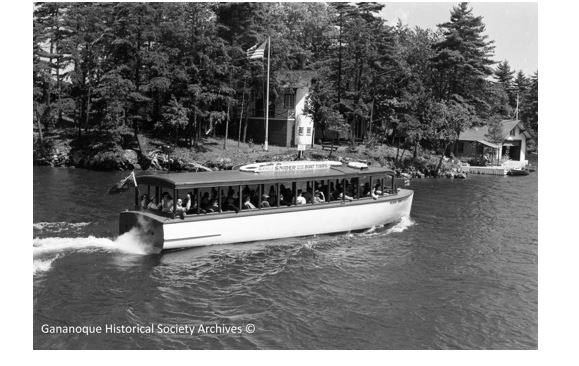 "The ""Miss Brockville"" was part of the Snider 1000 Island Boat Tours fleet and operated out of Brockville."