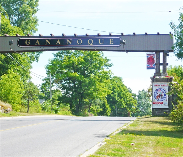 The Gananoque Gates were first built by Mitchell & Wilson in the 1920s