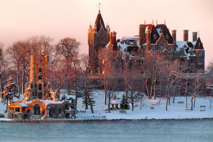 January 15, 2012. Boldt Castle. Photo by Paul Cooledge