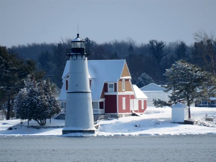 Dennis McCarthy captures on Rock Island Lighthouse on Feb. 6, 2018.