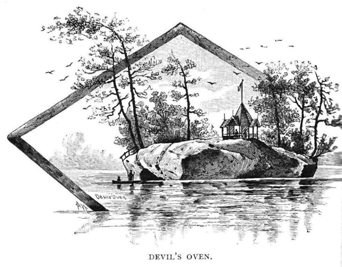 One of several popular Devil's Oven illustrations.  R. Matthews collection