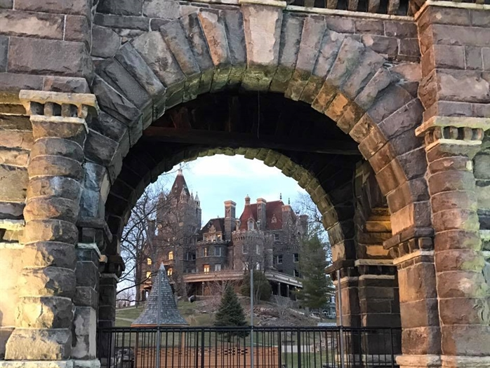 Doug Tulloch captures Boldt castle in a unique way
