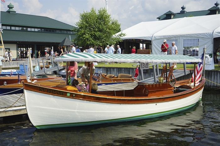 Ian Coristine attended the 50th Antique Boat Show (thank goodness)