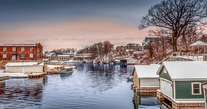 Mark-Wendy McRae's photograph of the Gananoque River.