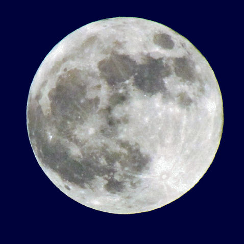 Supermoon, 5/5/12 by Paul Cooledge