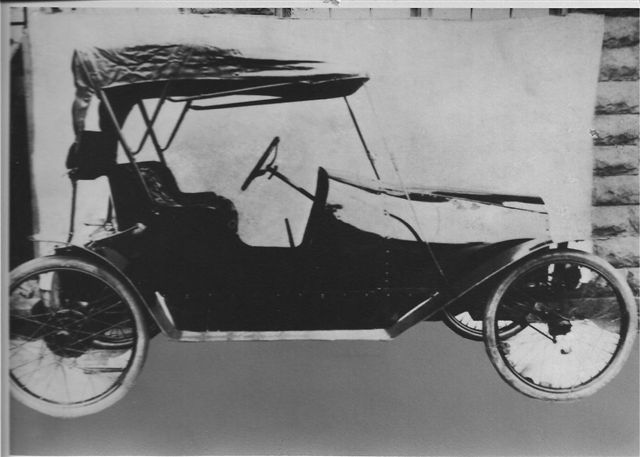 The Dunn Automobile 1916 Sold to China. Photo courtesy R. Spooner