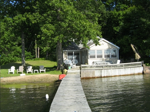 Our cottage on Tremont Island
