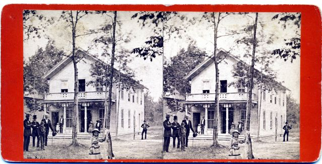 Wesley Hall -- Taken at 1000 Island Park, there is another stereoview in existence of the same scene