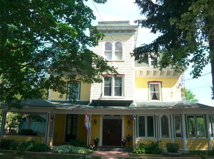 Originally the Mitchell Family home on First Street in Gananoque