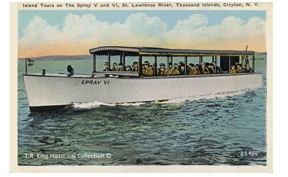 """Spray VI"", built in Clayton in 1925 had at least twelve different owners over her lifetime."