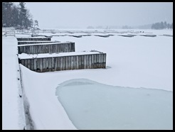 Winter docks