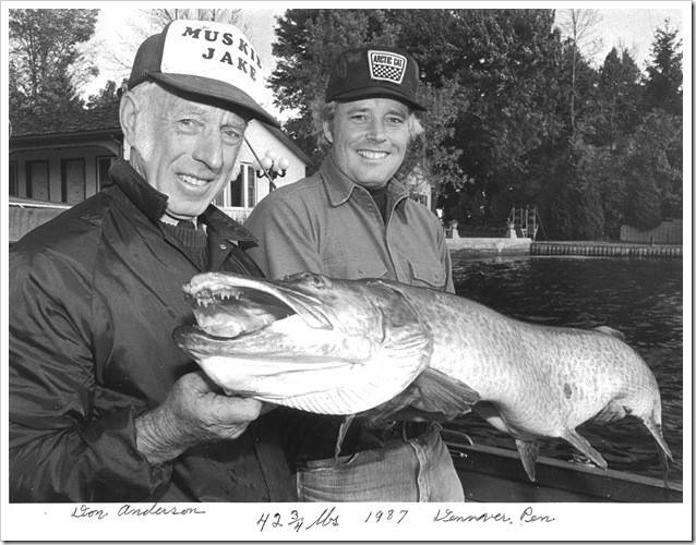 Muskie Jake and Don Anderson