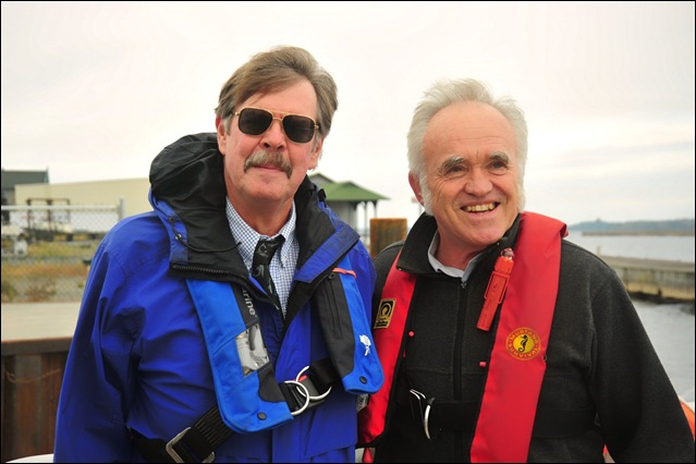 River Pilots Roger Paulus and Don Metzger. BCC_9557