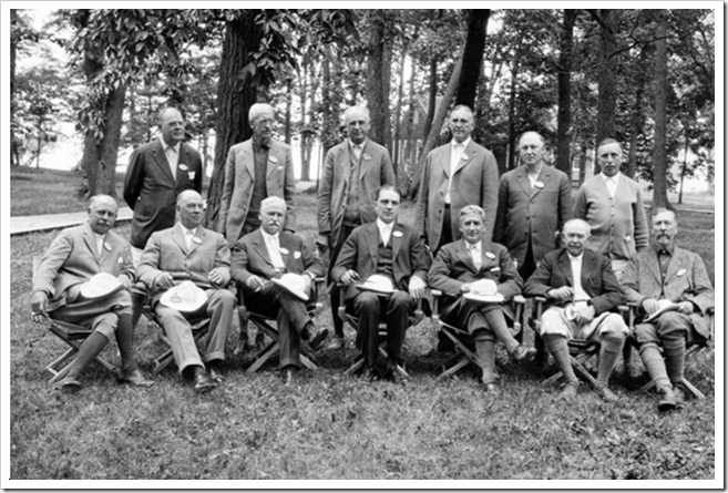 GE Executives 1925