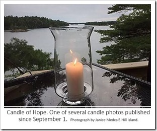 Candle of hope Medcalf 2