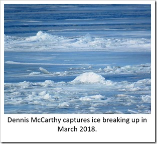 Ice breaking up