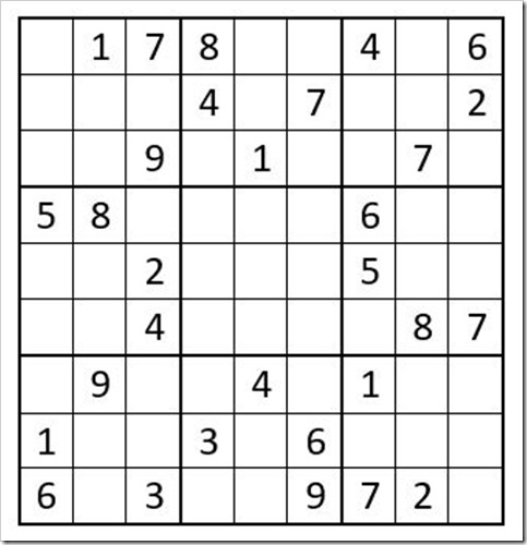 April's Extreme Sudoku Challenge > Thousand Islands Life
