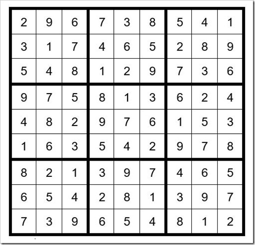 Sudoku Puzzle #48 > Thousand Islands Life Magazine