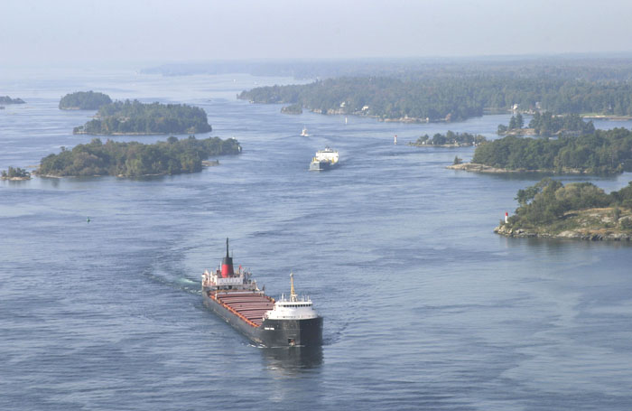 Brockville Narrows photo by Ian Coristine