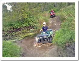 ATV courtesy Vanridge Tours & Trails
